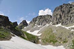 Valle della montagna Fotografia Stock Libera da Diritti