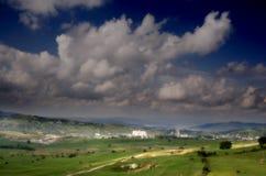 Valle della montagna Immagine Stock Libera da Diritti