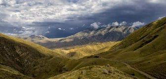 Valle della montagna Immagine Stock