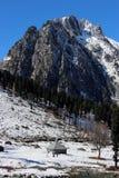 Valle della montagna al Kashmir in India Immagini Stock Libere da Diritti