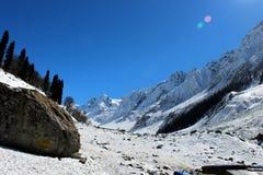 Valle della montagna nel Kashmir, India Fotografia Stock Libera da Diritti