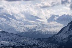Valle della montagna nell'Alaska Immagine Stock