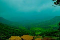 Valle della natura Fotografia Stock