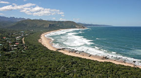 Valle della natura selvaggia della spiaggia Immagini Stock Libere da Diritti