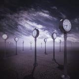 Valle della rappresentazione di tempo 3d Fotografia Stock