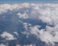 Valle delle alpi immagine stock