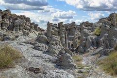 Valle delle bambole di pietra, Macedonia Immagini Stock