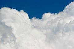 Valle delle nubi Fotografia Stock