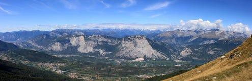 Valle di Adige, Trento Fotografia Stock Libera da Diritti