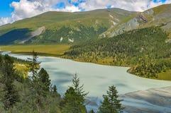 Valle di Akkem altai La Russia Fotografia Stock