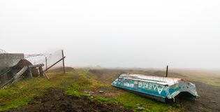 Valle di Akkem nel parco naturale delle montagne di Altai Fotografia Stock