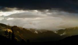 Valle di Akkem nel parco naturale delle montagne di Altai Immagine Stock Libera da Diritti