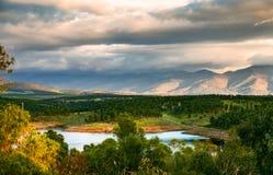 Valle di Ambroz Fotografia Stock