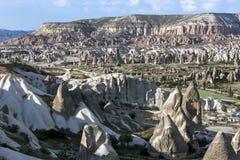 Valle di amore in Cappadocia in Turchia immagini stock