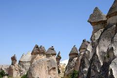 Valle di amore nel parco nazionale di Goreme Cappadocia, Turchia Immagine Stock Libera da Diritti
