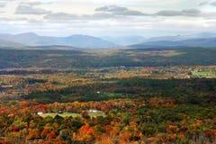 Valle di autunno Immagini Stock