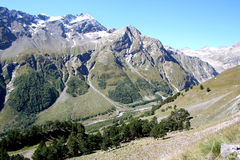 Valle di Baksan Fotografia Stock