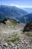 Valle di Bardonecchia, Piemonte, Italia Immagini Stock