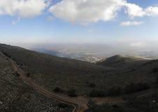 Valle di Beit Shean immagini stock libere da diritti