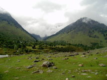 Valle di Betaab, Kashmir Fotografia Stock Libera da Diritti