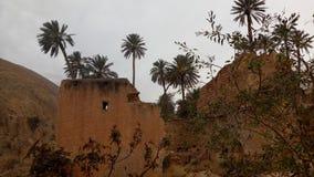 Valle di Bou saada Fotografia Stock Libera da Diritti