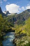 Valle di Briksdal Fotografia Stock