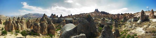 Valle di Cappadocia di amore fotografia stock