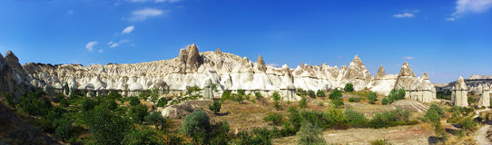 Valle di Cappadocia di amore immagine stock libera da diritti