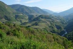 Valle di Cembra Fotografie Stock