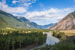 Valle di Chui Fotografie Stock