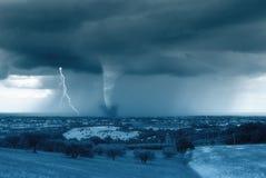 Valle di cicloni Fotografia Stock Libera da Diritti