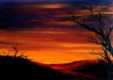 Valle di Cochella Fotografie Stock