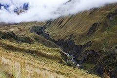 Valle di Collanes in vulcano dell'altare di EL Immagini Stock Libere da Diritti