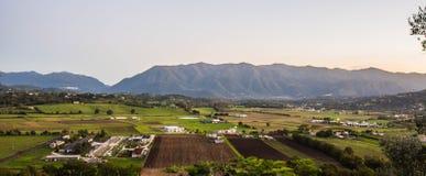 Valle Di Comino, Alvito, Ciociaria Obraz Stock