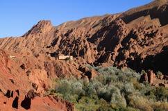 Valle di Dades, Marocco Fotografia Stock Libera da Diritti