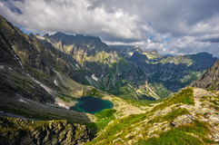 Valle di dolina del ¡ di Litvorovà Fotografia Stock