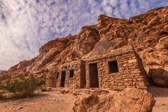 Valle di fuoco la cabina Fotografia Stock