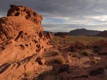 Valle di fuoco Nevada Fotografia Stock Libera da Diritti