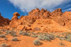 Valle di fuoco Nevada Immagine Stock Libera da Diritti