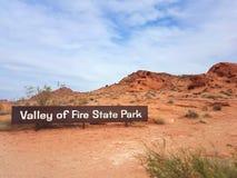 Valle di fuoco, Nevada immagine stock libera da diritti