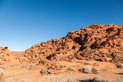 Valle di fuoco Nevada Scenic Landscape Fotografia Stock Libera da Diritti