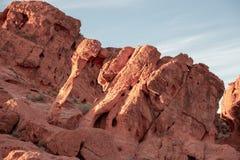 Valle di fuoco - rocce di Nevada State Park The Elephant fotografia stock libera da diritti