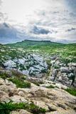Valle di Ghasri Fotografia Stock