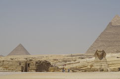 Valle di Giza - Sfinge Fotografia Stock