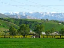 Valle di Hissar del Tagikistan Fotografia Stock Libera da Diritti