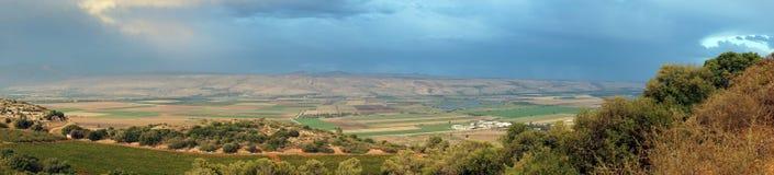 Valle di Hula immagini stock libere da diritti