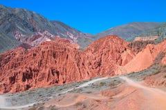 Valle di Humahuaca fotografia stock libera da diritti