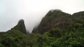 Valle di Iao in Maui Hawai video d archivio