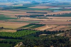 Valle di Israele fotografia stock libera da diritti