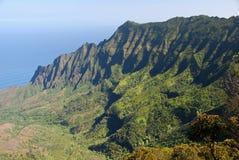 Valle di Kalalau Fotografia Stock
